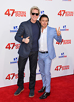 Matthew Modine &amp; Yani Gellman at the Los Angeles premiere for &quot;47 Meters Down&quot; at the Regency Village Theatre, Westwood. <br /> Los Angeles, USA 12 June  2017<br /> Picture: Paul Smith/Featureflash/SilverHub 0208 004 5359 sales@silverhubmedia.com