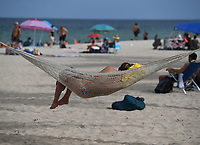 FORT LAUDERDALE, FL - JUNE 28: A crowd of young People are seen on Fort Lauderdale Beach as South Florida beaches are to close for July Fourth weekend, Florida reports another record spike in coronavirus cases, Floridaís Covid-19 surge shows the state's reopening plan is not working on June 28, 2020 in Fort Lauderdale Beach, Florida. Credit: mpi04/MediaPunch