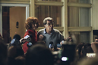 PATERNO (2018)<br /> KATHY BAKER, AL PACINO<br /> *Filmstill - Editorial Use Only*<br /> CAP/FB<br /> Image supplied by Capital Pictures