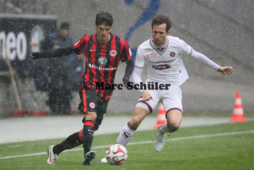 Lucas Piazon (Eintracht) - Eintracht Frankfurt vs. Servette Genf, Commerzbank Arena