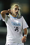 21 November 2014: North Carolina's Megan Buckingham. The University of North Carolina Tar Heels hosted the University of Colorado Buffaloes at Fetzer Field in Chapel Hill, NC in a 2014 NCAA Division I Women's Soccer Tournament Second Round match. UNC won the game 1-0 in overtime.