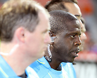 Referee Abiodun Okulaja during an MLS match against FC Dallas at RFK Stadium in Washington D.C. on August 14 2010. Dallas won 3-1.