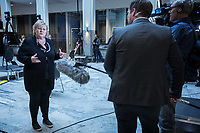 Press conference with Prime Minister Erna Solberg to present the Corona commission set up to evaluate the Norwegian response to the crisis. <br />