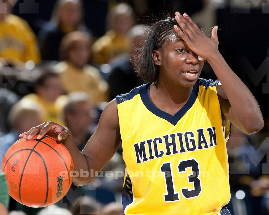 2/11/2010 Michigan vs. Michigan State women's basketball at Crisler Arena..