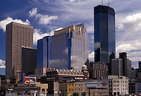 AJ2852, Minneapolis, skyline, Twin Cities, Minnesota, Downtown skyline of Minneapolis in the state of Minnesota.
