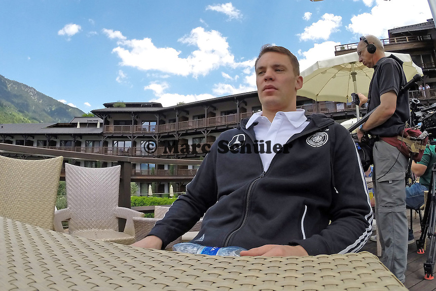 Manuel Neuer - Media Day der Deutschen Nationalmannschaft zur WM-Vorbereitung in St. Martin