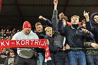KV KORTRIJK - KRC GENK :<br /> HEENWEDSTRIJD 1/2 FINALES CROKY CUP :<br /> sfeerbeelden na de wedstrijd<br /> Foto Dirk Vuylsteke / VDB / Bart Vandenbroucke