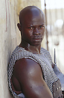 Gladiator (2000)<br /> Djimon Hounsou<br /> *Filmstill - Editorial Use Only*<br /> CAP/KFS<br /> Image supplied by Capital Pictures