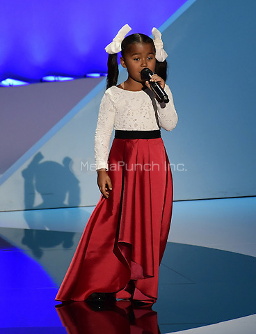 Heavenly Joy performs at the 2016 Republican National Convention held at the Quicken Loans Arena in Cleveland, Ohio on Thursday, July 21, 2016.<br /> Credit: Ron Sachs / CNP/MediaPunch<br /> (RESTRICTION: NO New York or New Jersey Newspapers or newspapers within a 75 mile radius of New York City)