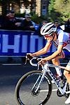 Elizabeth Deignan (GBR) chases in 6th place on the first circuit of Harrogate during the Women Elite Road Race of the UCI World Championships 2019 running 149.4km from Bradford to Harrogate, England. 28th September 2019.<br /> Picture: Andy Brady | Cyclefile<br /> <br /> All photos usage must carry mandatory copyright credit (© Cyclefile | Andy Brady)