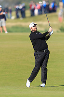 Shane Lowry (IRL) on the 11th fairway during Round 2 of the 2015 Alfred Dunhill Links Championship at Kingsbarns in Scotland on 2/10/15.<br /> Picture: Thos Caffrey | Golffile