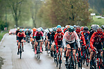 Action from a very wet 2019 Liège-Bastogne-Liège Femmes, running 138.5km from Bastogne to Liege, Belgium. 28th April 2019<br /> Picture: ASO/Thomas Maheux | Cyclefile<br /> All photos usage must carry mandatory copyright credit (© Cyclefile | ASO/Thomas Maheux)