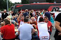 EMMEN - Voetbal, FC Emmen - AZ, De  Oude Meerdijk, Eredivisie, seizoen 2018-2019, 19-08-2018,  Festiviteiten op voorplein in Emmen