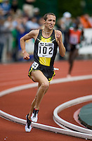 EUGENE, OR--Dathan Ritzenhein   competes in the mens 2 mile during the Steve Prefontaine Classic, Hayward Field, Eugene, OR. SUNDAY, JUNE 10, 2007. PHOTO © 2007 DON FERIA