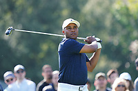Harold Varner III (USA) In action during the third round of the The Genesis Invitational, Riviera Country Club, Pacific Palisades, Los Angeles, USA. 14/02/2020<br /> Picture: Golffile | Phil Inglis<br /> <br /> <br /> All photo usage must carry mandatory copyright credit (© Golffile | Phil Inglis)