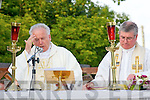 ANNAUL: The Bishop of Kerry Bill Murphy who celebrated mass in Tralee Cemetery on Wednesday assisted by the Dean Fr Sean Hanafin and Deacon Brian Daly (Dominican)  who will be ordained in September.....