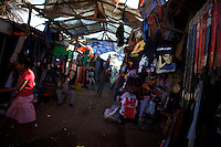 A locally printed hand bag of President Elect Barack Obama is displayed In Amhara's regional capital Bahir Dar's main market on President Barack Obama's inauguration day, Tuesday January 20 2009..