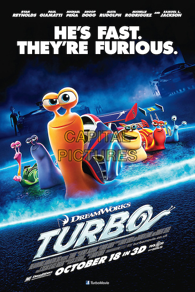 POSTER ART<br /> in Turbo (2013) <br /> *Filmstill - Editorial Use Only*<br /> CAP/NFS<br /> Supplied by Capital Pictures