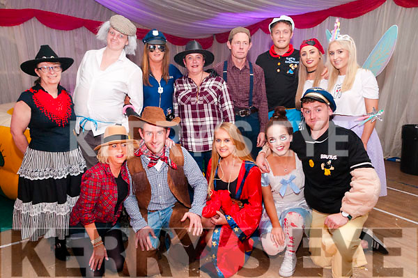 Moyvane Village Festival:Pictured at the Barn Dance at Moyvane Community centre as part of the Moyvane Villqage festival on Sunday night last were in front Bernie O'Keeffe, James Kennelly, Michael Kennelly, Fiona Buckley & Evan Kennelly. Back : Tracey Hogger, Katie Galvin, Caroline Maune, Anne Stack, Pat Stack, Mike Stack, Aoife McCarthy & Jennifer Kennelly.