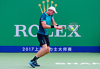 KEVIN ANDERSON (RSA)<br /> <br /> TENNIS - SHANGHAI ROLEX MASTERS - QI ZHONG TENNIS CENTER - MINHANG DISTRICT - SHANGHAI - CHINA - ATP 1000 - 2017 <br /> <br /> <br /> <br /> &copy; TENNIS PHOTO NETWORK