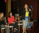 Jill Hurst (head writer), Kathleen Cullen & Denise Pence at Q & A - Guiding Light 75th Anniversary Brunch to benefit The American Cancer Society on October 7, 2012 at Bowlmor Lanes Times Square, New York City, New York.  (Photo by Sue Coflin/Max Photos)