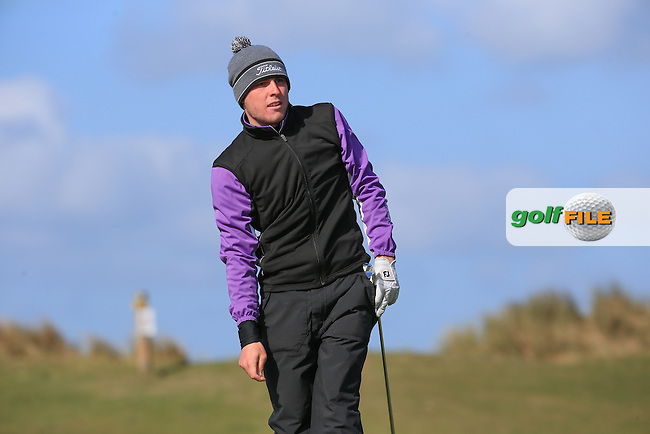 Jake Burgage (Saunton GC) during Round Three of the West of England Championship 2016, at Royal North Devon Golf Club, Westward Ho!, Devon  24/04/2016. Picture: Golffile | David Lloyd<br /> <br /> All photos usage must carry mandatory copyright credit (&copy; Golffile | David Lloyd)