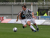 Paul McGowan in the St Mirren v Heart of Midlothian Clydesdale Bank Scottish Premier League match played at St Mirren Park, Paisley on 15.9.12.