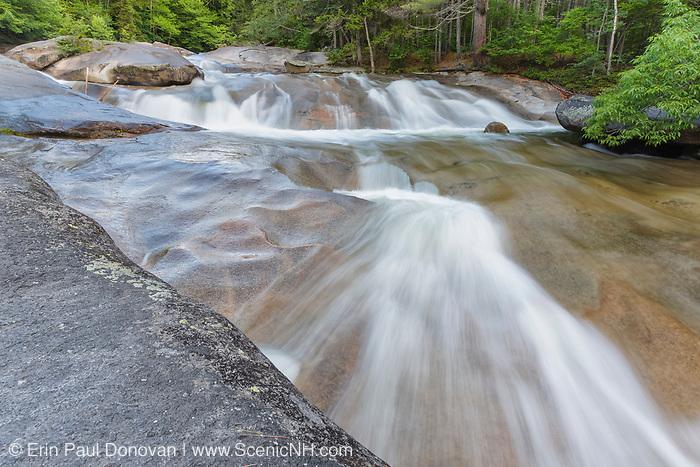 Franconia Falls along Franconia Brook in Lincoln, New Hampshire USA.