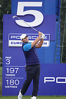 Patrick Reed (USA) in action during the ProAm ahead of the Porsche European Open, Green Eagle Golf Club, Hamburg, Germany. 04/09/2019<br /> Picture: Golffile | Phil Inglis<br /> <br /> <br /> All photo usage must carry mandatory copyright credit (© Golffile | Phil Inglis)