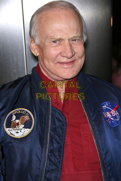 """BUZZ ALDRIN .""""The Astronaut Farmer"""" World Premiere - Arrivals held at the Cinerama Dome, Hollywood, California , USA, .20 February 2007..portrait headshot red shirt space blue jacket .CAP/ADM/ZL.©Zach Lipp/AdMedia/Capital Pictures."""