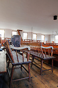 Sandown Meetinghouse located in Sandown, New Hampshire USA which is part of New England...This Meetinghouse is listed on the Register of Historic Places and is a excellent example of a 18th century New England chruch / Meetinghouse.