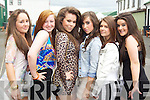 Sinead O'Donnell, Ashley Dunne, Ashley Hannon, Katie Buckley, Paulina Wojtusik and Shauna Murphy pictured at Listowel races on Sunday.