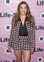 """HOLLYWOOD - NOVEMBER 27:  Allison Holker  at the """"Life Size 2"""" World Premiere on November 27, 2018 at the Hollywood Roosevelt Hotel in Hollywood, California. (Photo by Scott Kirkland/PictureGroup)"""