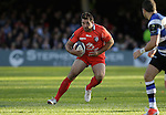 Florian Fritz of Toulouse - European Rugby Champions Cup - Bath Rugby vs Toulouse - Recreation Ground Bath - Season 2014/15 - October 25th 2014 - <br /> Photo Malcolm Couzens/Sportimage