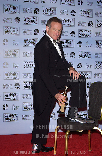 Jan 16, 2005; Los Angeles, CA: ROBIN WILLIAMS at the 62nd Annual Golden Globe Awards at the beverly Hilton Hotel..
