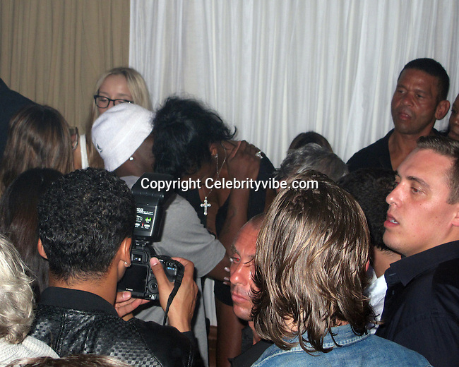**EXCLUSIVE**P. Diddy, Kim Porter, Quincy Brown, Benny Medina.Diddy Party in St Barth.Casa Nikki Nightclub.St. Barth, Caribbean.Monday, December 27, 2010.Photo By CelebrityVibe.com.To license this image please call (212) 410 5354; or Email: CelebrityVibe@gmail.com ; website: www.CelebrityVibe.com