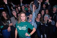 Eagles Fans celebrate in Philadelphia 020418