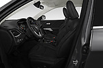 Front seat view of a 2019 Jeep Cherokee Latitude Plus 4X4 5 Door SUV front seat car photos