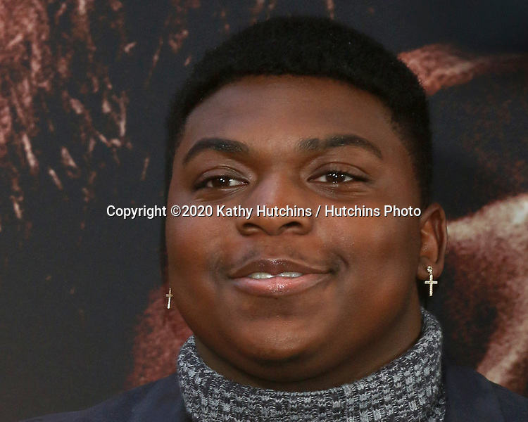 LOS ANGELES - MAR 1:  Charles Lott Jr at the The Way Back Premiere at the Regal LA Live on March 1, 2020 in Los Angeles, CA