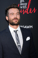 """Charlie Weber at the """"How To Get Away With Murder"""" ATAS FYC Event, Sunset Gower Studios, Los Angeles, CA 05-28-15<br /> <br /> David Edwards/Newsflash Pictures 818-249-4998"""