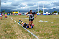 Hawkes Bay v Wanganui men. 2017 Bayleys Central Regional Sevens at Playford Park in Levin, New Zealand on Saturday, 9 December 2017. Photo: Dave Lintott / lintottphoto.co.nz