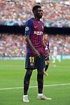 UEFA Champions League 2018/2019 - Matchday 1.<br /> FC Barcelona vs PSV Eindhoven: 4-0.<br /> Ousmane Dembele.