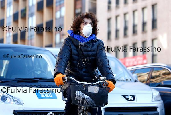 Milano febraio 2016, Bastioni di Porta nuova