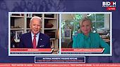 Apr 28, 2020 (USA): Women's Town Hall on COVID-19 ft. Hillary Clinton | Joe Biden For President