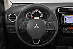 Car pictures of steering wheel view of a 2020 Mitsubishi Space-Star Diamond-Edition 5 Door Hatchback Steering Wheel