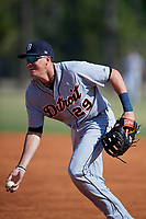 Detroit Tigers Dominic Ficociello (29) during a Minor League Spring Training intrasquad game on March 24, 2018 at the TigerTown Complex in Lakeland, Florida.  (Mike Janes/Four Seam Images)