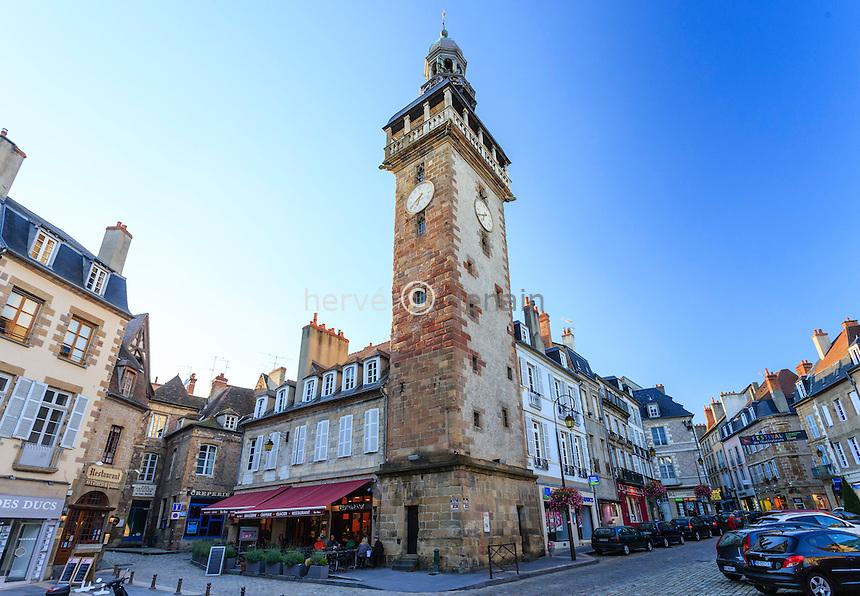 France, Allier (03), Moulins, la tour Jacquemart // France, Allier, Moulins, Jacquemart Tower