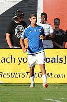 Washington D.C. - August 22, 2015: The San Jose Earthquakes defeated D.C. United  2-0 during a 2015 MLS regular season game at RFK Stadium.