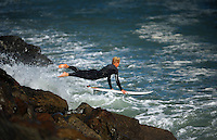 150501 Surfing - Lyall Bay