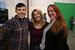 "From left, Travis McDonald, Emily Howarth and Lindsay Moore pose for photos at the ""We Are Western"" event hosted by the Western Nevada College Foundation, in Carson City, Nev., on Friday, March 8, 2019. <br /> Photo by Cathleen Allison/Nevada Momentum"